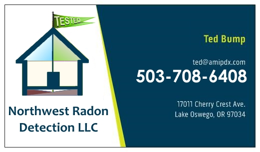 Radon Testing by NW Radon Detection Oregon Washington